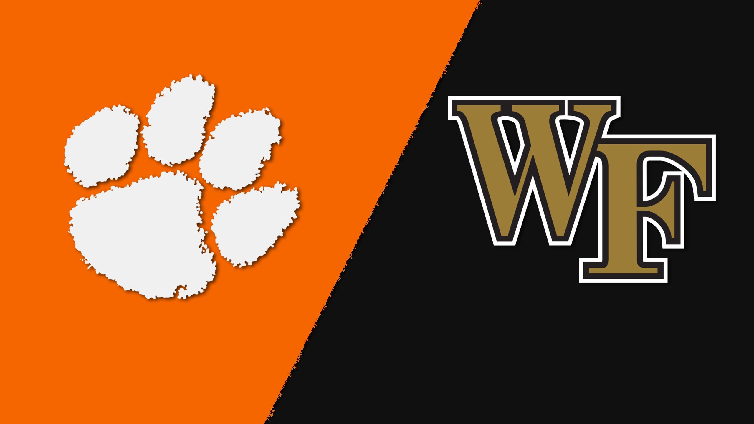Clemson vs. Wake Forest (W Soccer)
