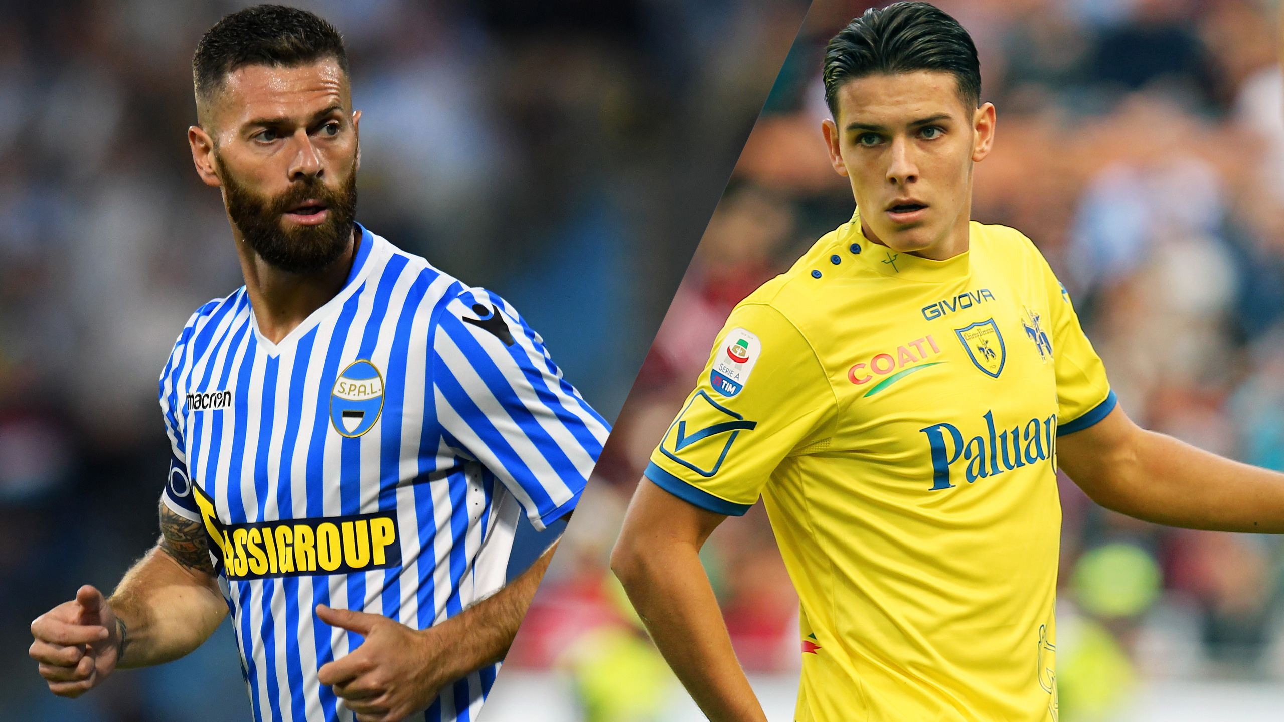 In Spanish - SPAL vs. Chievo (Serie A)