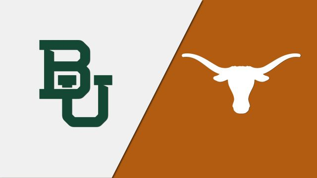 Baylor vs. #3 Texas (re-air)