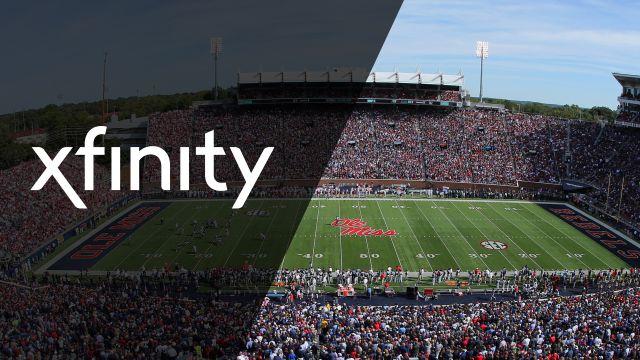 Xfintiy SkyCam-LSU vs. Ole Miss (Football)