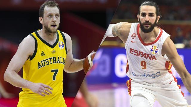 Fri, 9/13 - Australia vs. Spain (Semifinal #1)