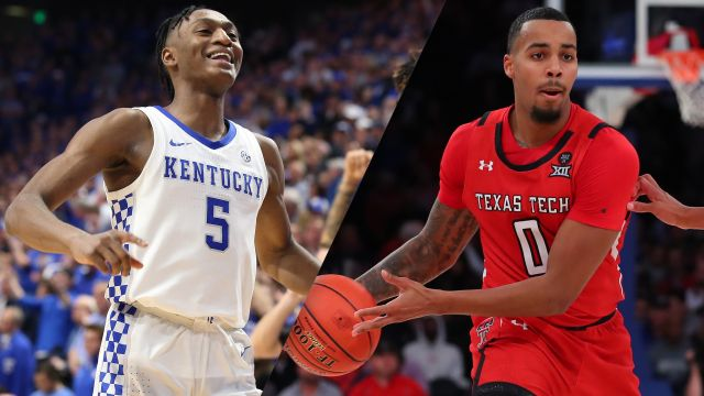 Sat, 1/25 - #15 Kentucky vs. #18 Texas Tech (M Basketball)
