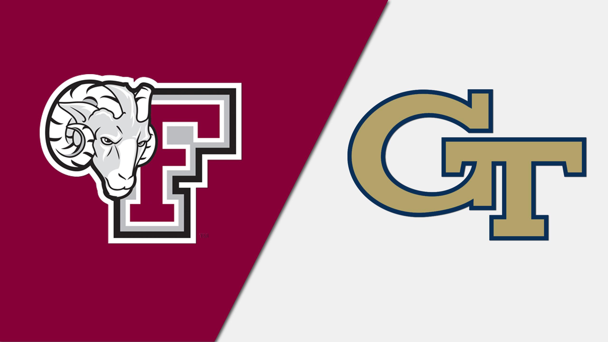 Fordham vs. Georgia Tech (Softball)
