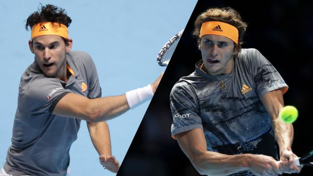 (5) Thiem vs. (7) Zverev