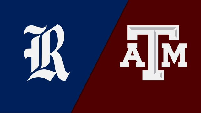 Rice vs. #13 Texas A&M (Second Round) (NCAA Women's Volleyball Tournament)
