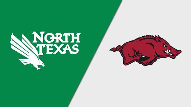 North Texas vs. #3 Arkansas (First Round) (NCAA Women's Soccer Championship)