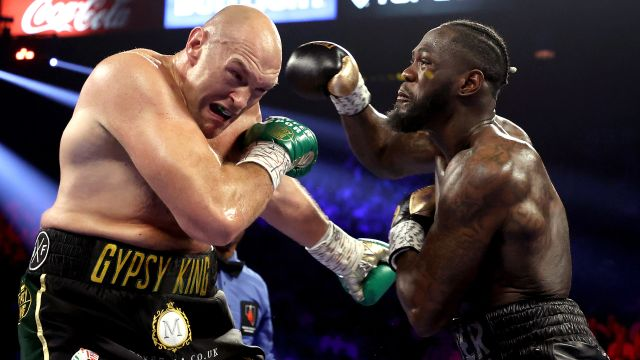 Sat, 3/28 - In Spanish-Deontay Wilder vs. Tyson Fury