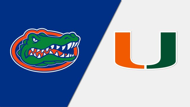 Florida Gators vs. Miami Hurricanes