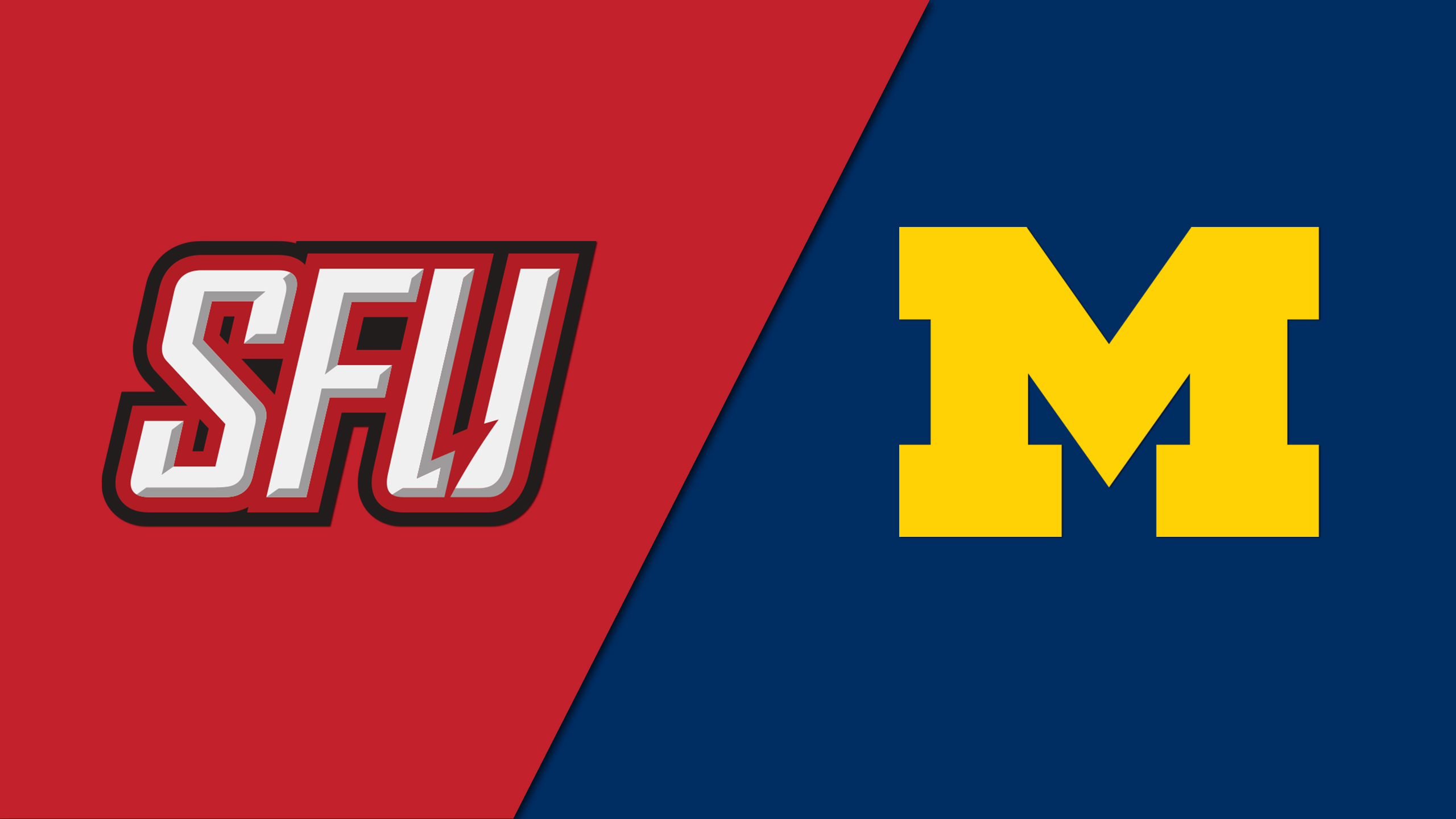 Saint Francis (PA) vs. Michigan (Site 7 / Game 2) (re-air)