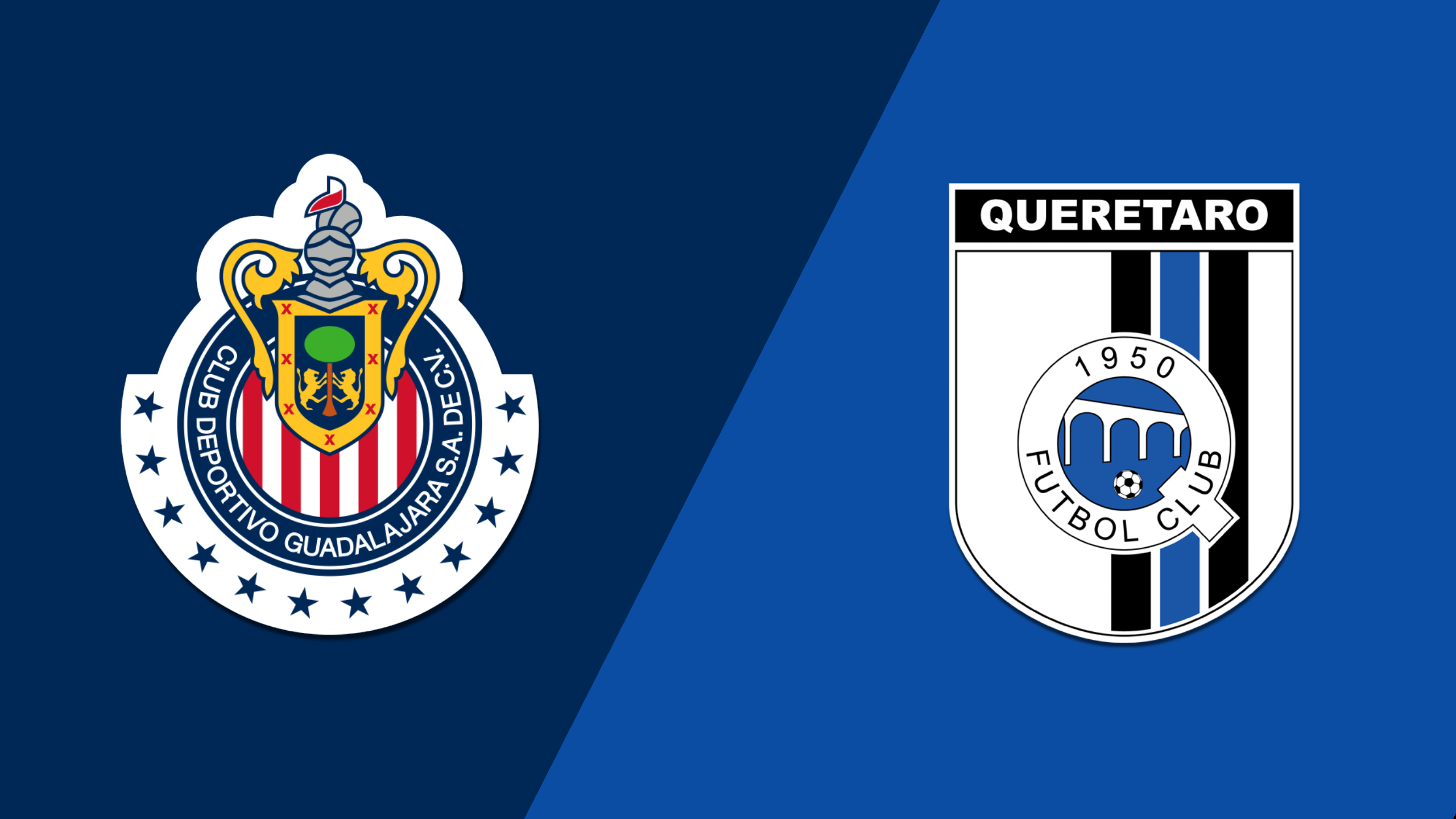 In Spanish - Chivas de Guadalajara vs. Gallos Blancos de Querétaro (Jornada 10) (Liga MX)