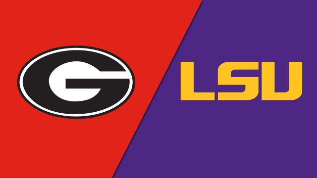 Georgia Bulldogs vs. LSU Tigers (re-air)