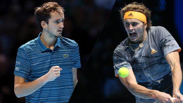 (4) Medvedev vs. (7) Zverev
