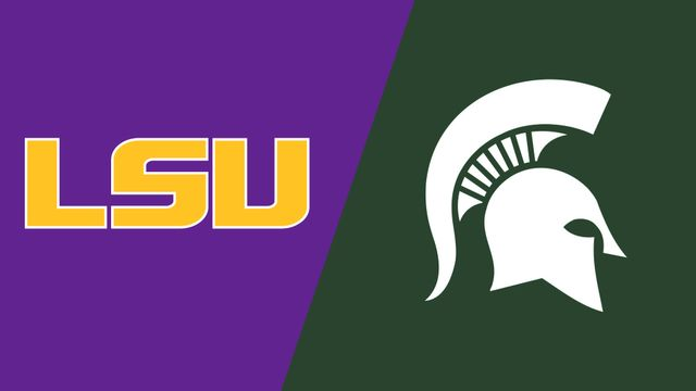 #3 LSU vs. #2 Michigan State (Sweet 16)