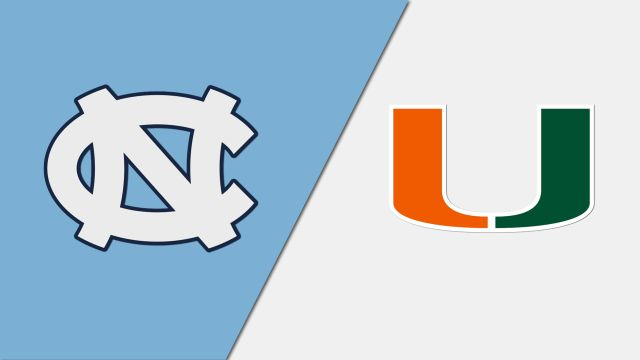 North Carolina vs. Miami