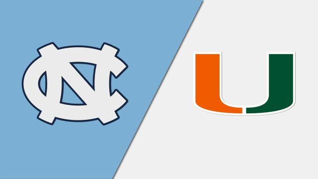 North Carolina vs. Miami