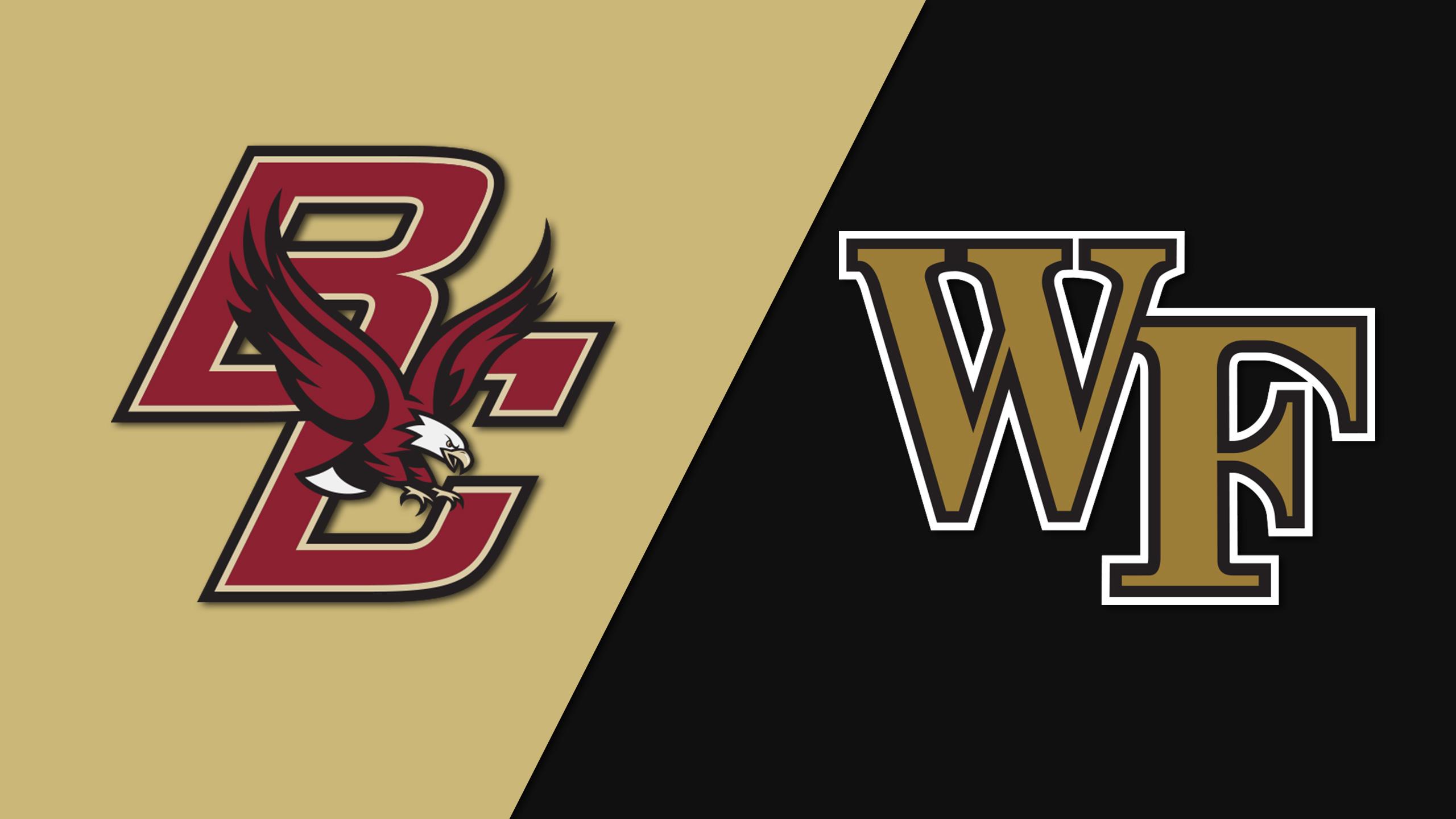 Boston College vs. #2 Wake Forest (M Soccer)