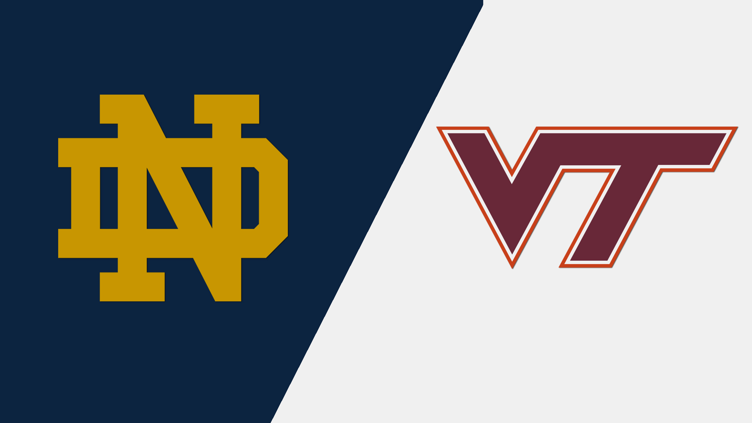 #1 Notre Dame vs. Virginia Tech (W Basketball)