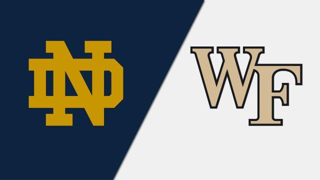 Notre Dame vs. Wake Forest (M Soccer)