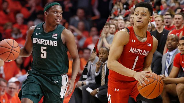 #24 Michigan State vs. #9 Maryland (M Basketball)