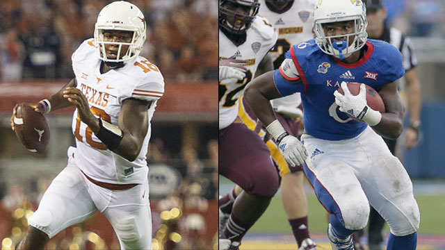 Texas Longhorns vs. Kansas Jayhawks