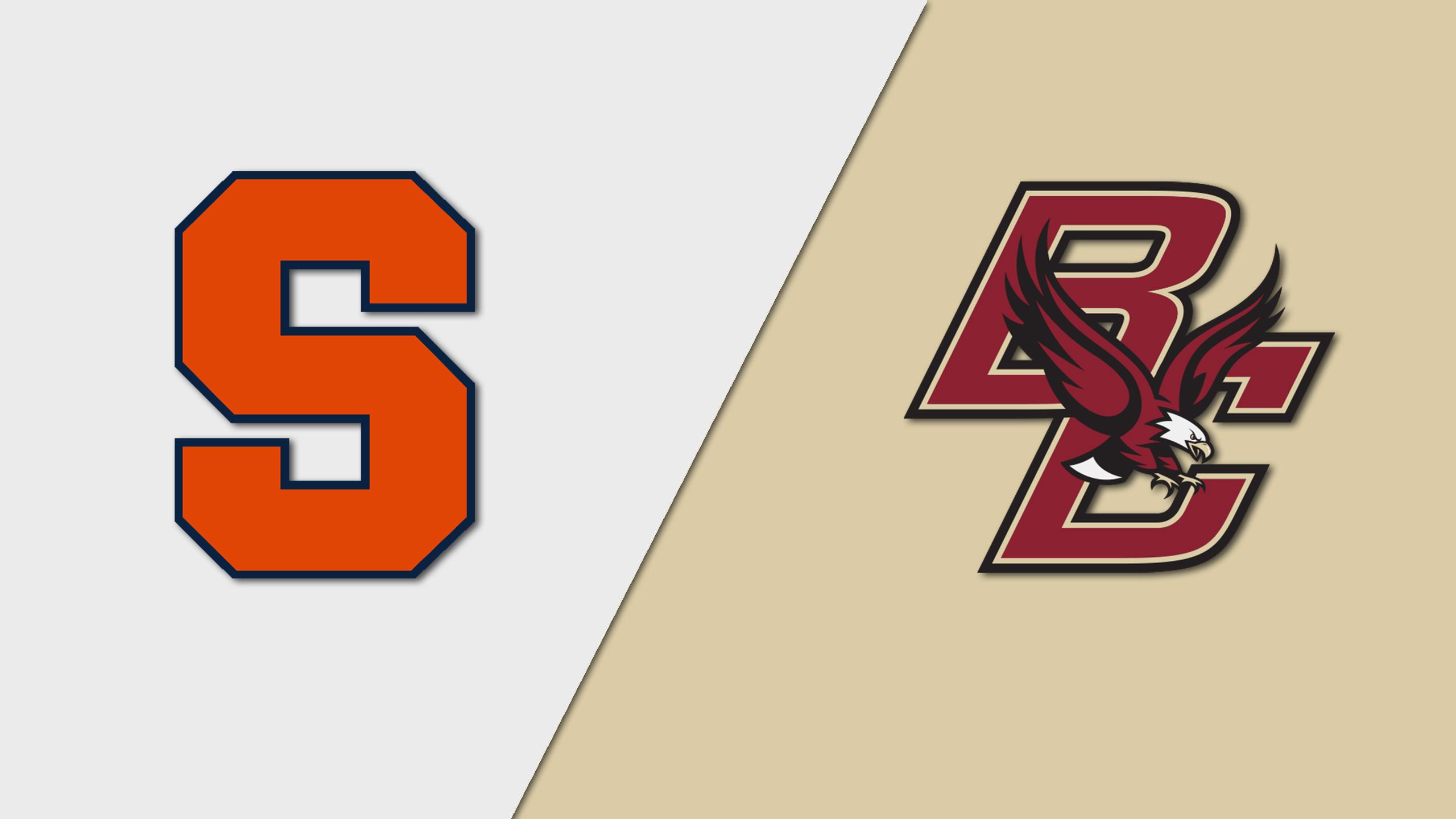 Syracuse vs. Boston College (W Hockey)