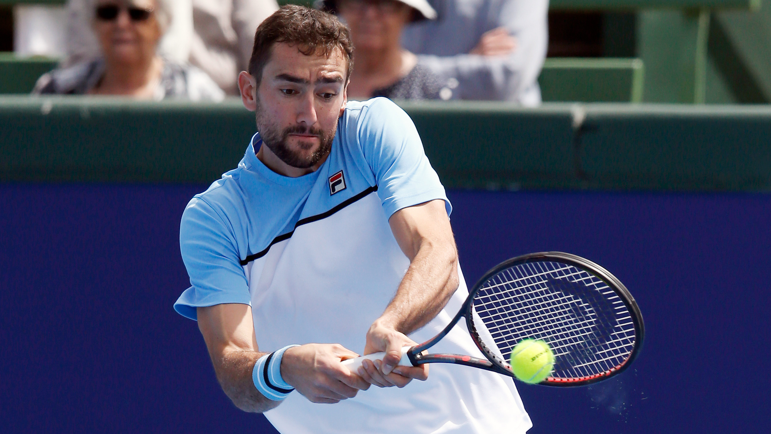 (6) Cilic vs. McDonald (Men's Second Round)