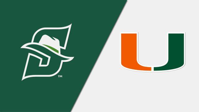 Stetson vs. Miami (W Soccer)