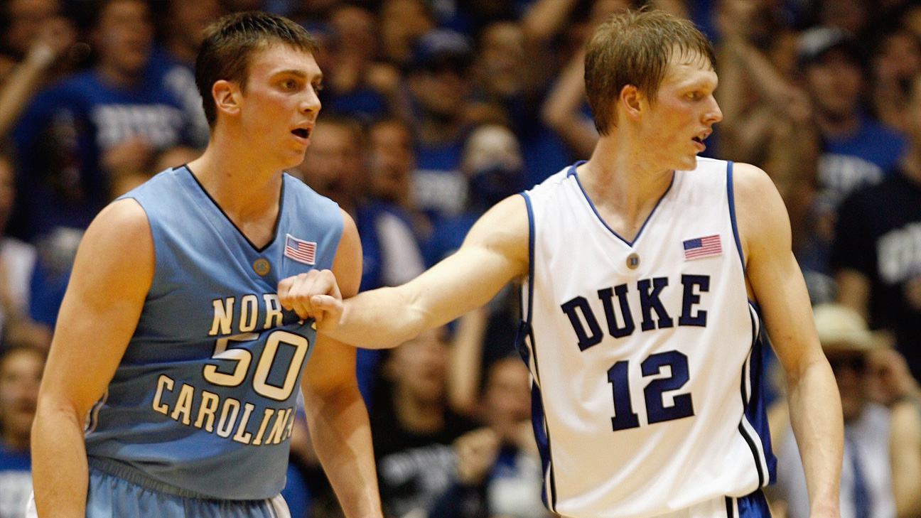 #5 North Carolina vs. #16 Duke (Outermarket) - 2/7/2007 (re-air)