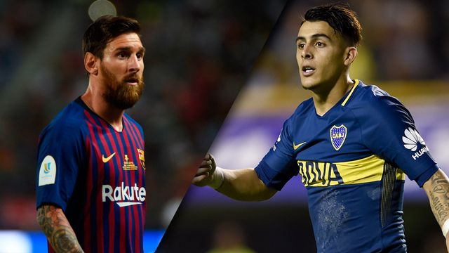 Barcelona vs. Boca Juniors