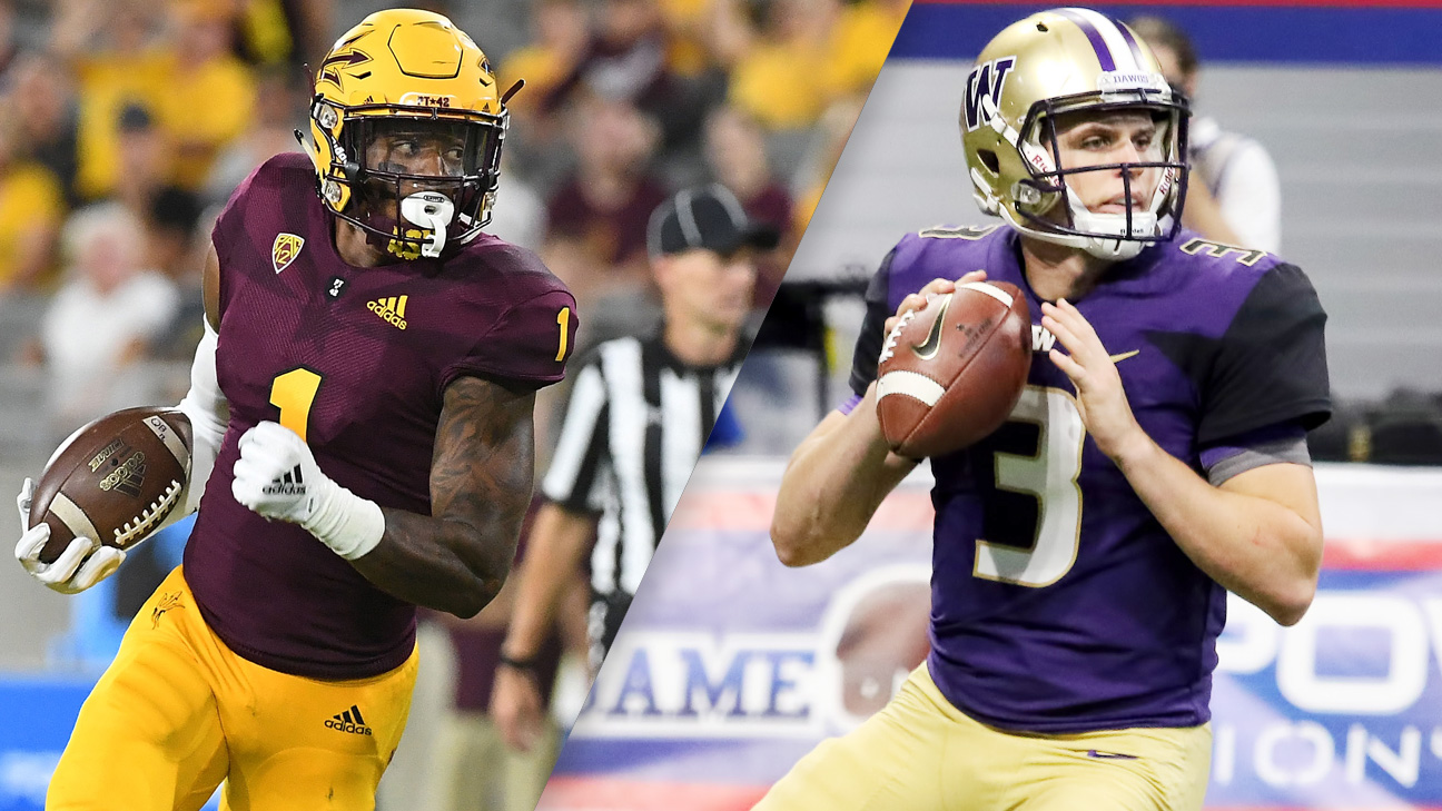 Arizona State vs. #10 Washington (Football) (re-air)