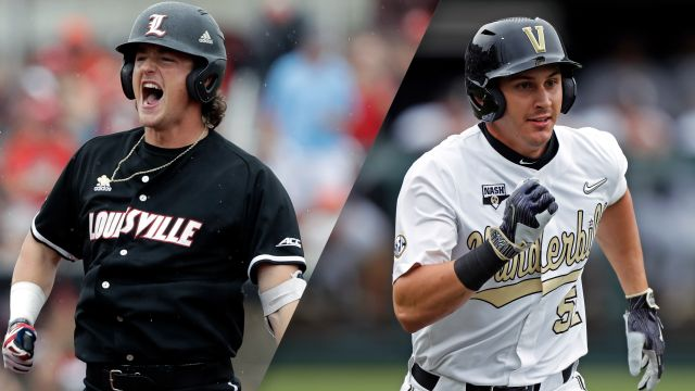 Louisville vs. Vanderbilt (Game 3) (College World Series)