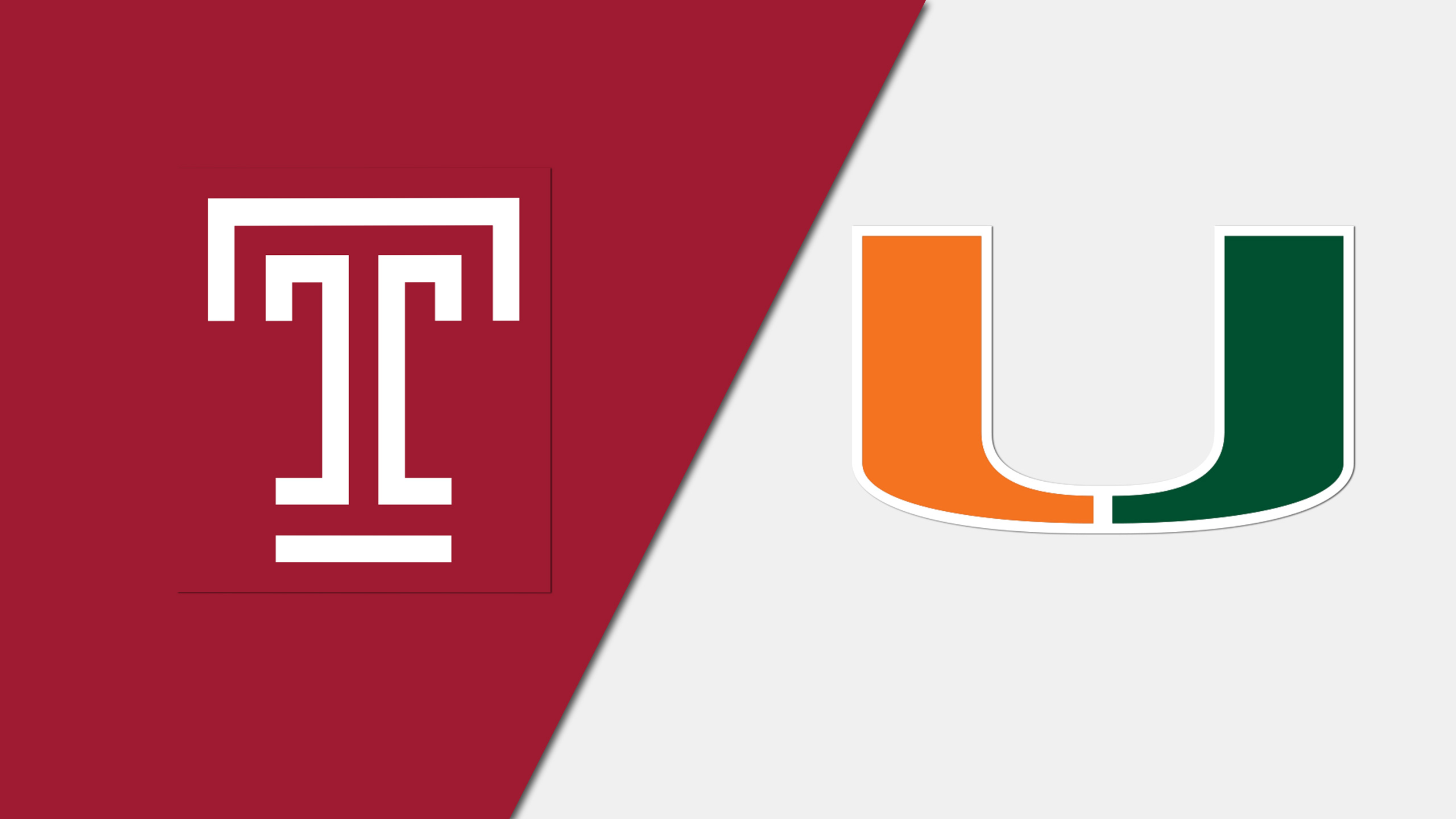 Temple vs. #24 Miami (W Basketball)