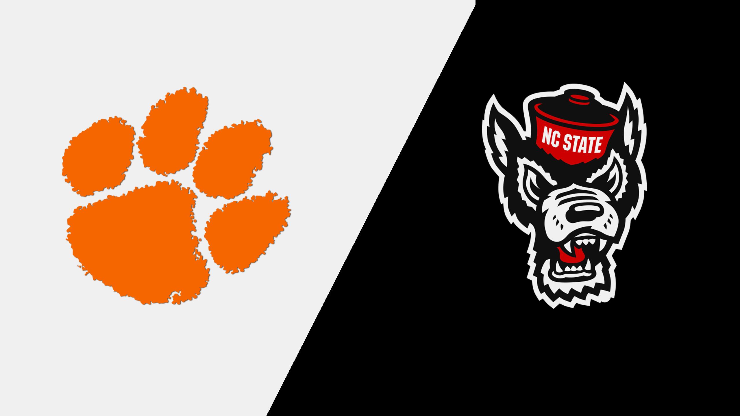 Clemson vs. #8 NC State (W Basketball)