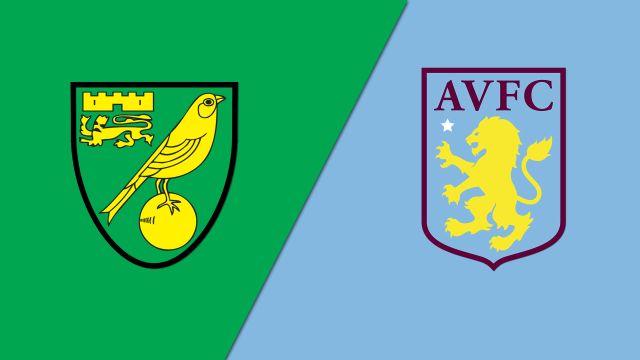 Norwich City vs. Aston Villa (English League Championship)