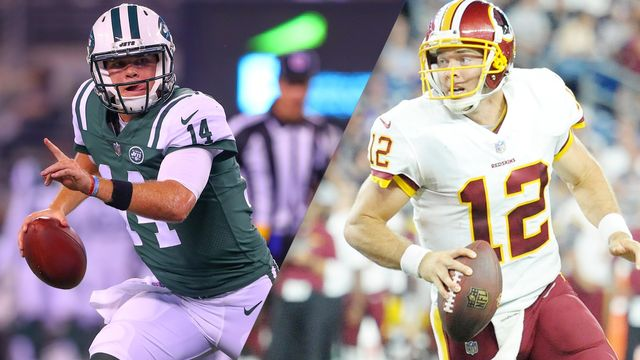 New York Jets vs. Washington Redskins