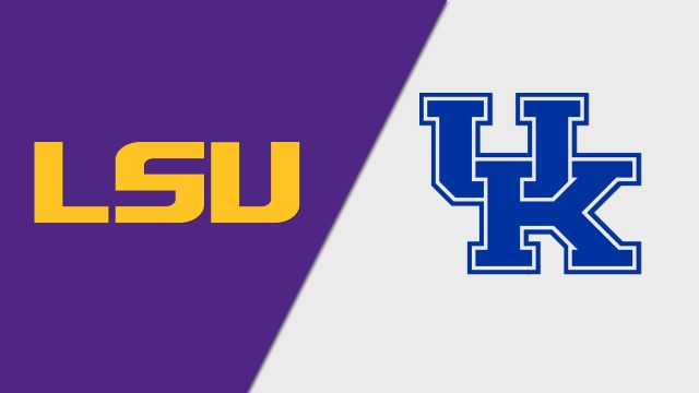 LSU Tigers vs. Kentucky Wildcats