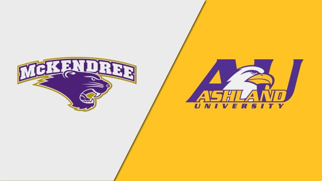 McKendree vs. Ashland (First Round) (W Soccer)