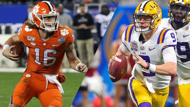 #3 Clemson vs. #1 LSU (College Football Playoff)