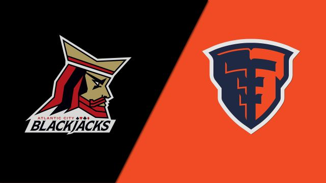 Atlantic City Blackjacks vs. Albany Empire (Arena Football League)