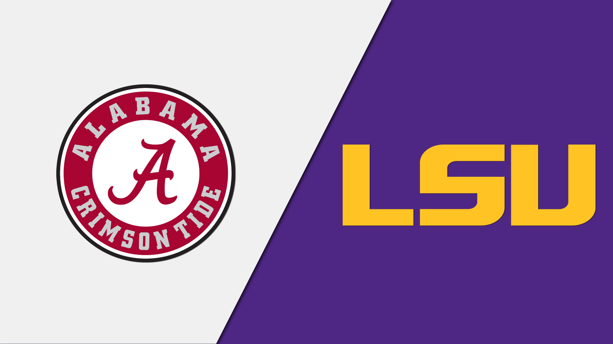 Alabama vs. LSU (re-air)