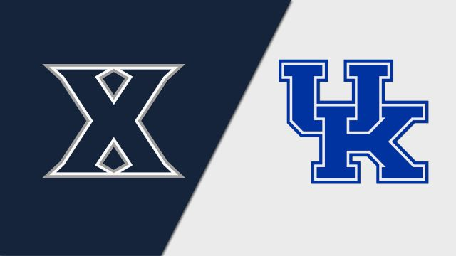 Xavier vs. Kentucky (Baseball)