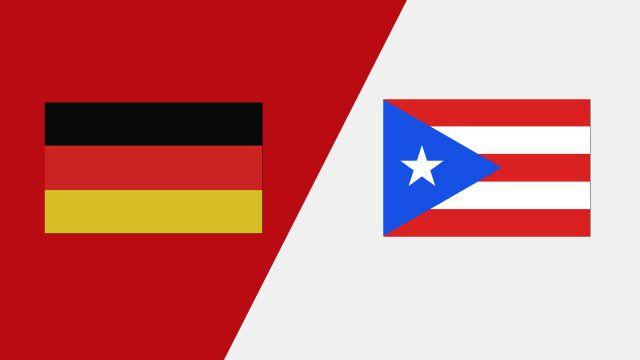 Germany vs. Puerto Rico