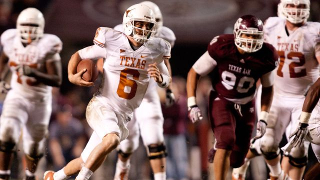 #25 Texas vs. Texas A&M (re-air)