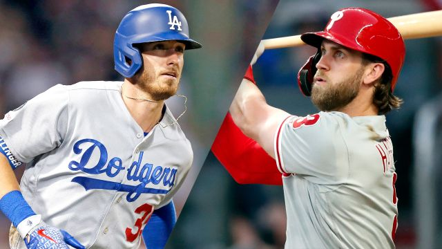 Los Angeles Dodgers vs. Philadelphia Phillies (re-air)