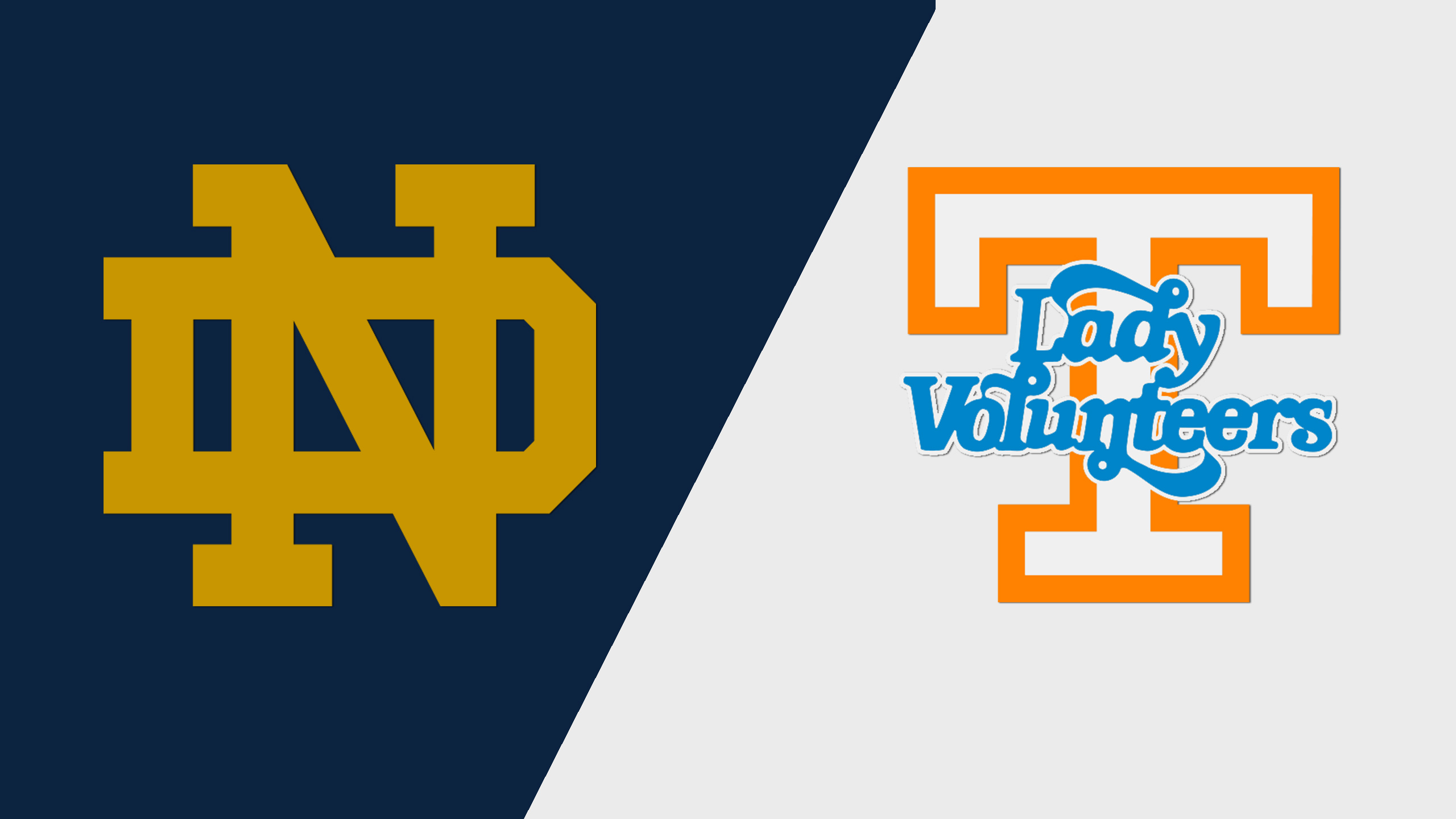 #1 Notre Dame vs. #20 Tennessee (re-air)