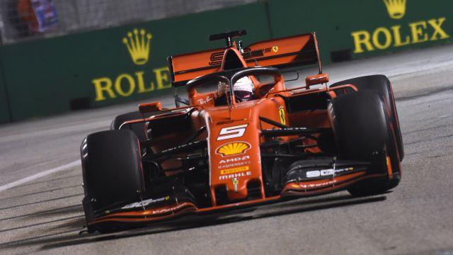 Formula 1 Singapore Airlines Singapore Grand Prix Practice 2