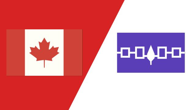 Canada vs. Iroquois Nationals