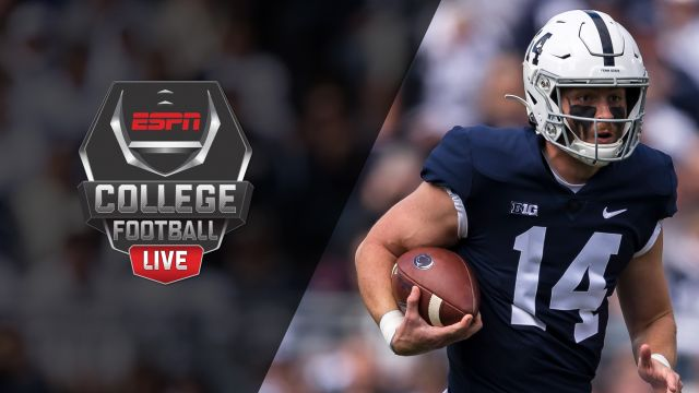 Thu, 10/17 - College Football Live Presented by Dr Pepper