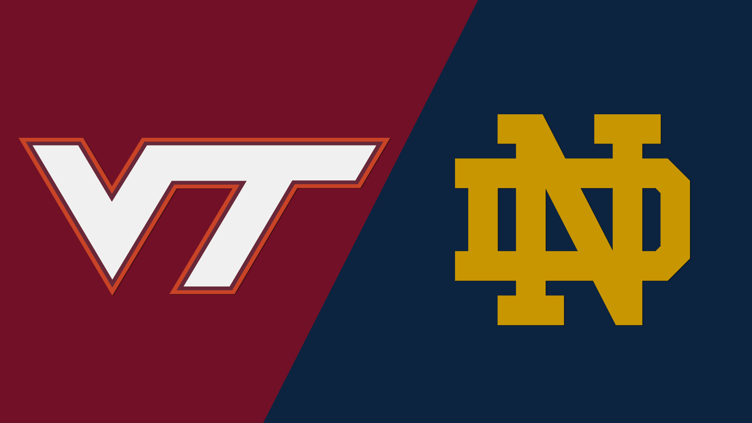 Virginia Tech vs. #16 Notre Dame (M Soccer)