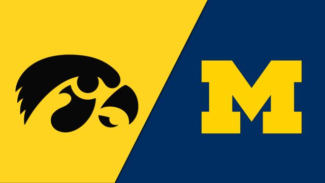 Big Ten Conference Basketball: Iowa @ MI